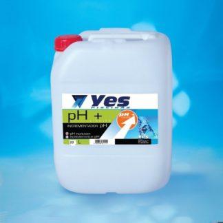 Incrementador de pH líquido (pH+) 20lts