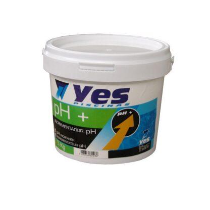 Incrementador de pH sólido  (pH+) 5kg