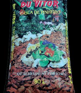 Casca de pinho Du Vitor 80lts