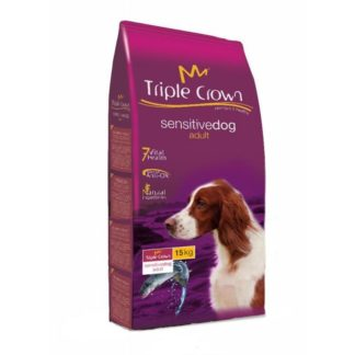 Triple Crown Sensitive Dog Salmão 15kg