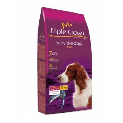 Triple Crown Sensitive Dog Salmão 15kg