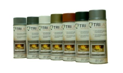 Spray tinta alta temperatura Trilac900 400ml