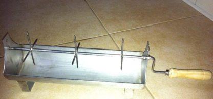 Assador chouriças inox 250mm
