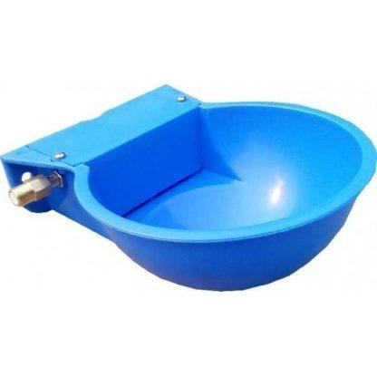 Bebedouro plástico azul nível constante