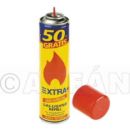 Recarga gás p/isqueiros 250ml