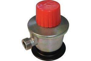 Regulador de gás com saída roscada