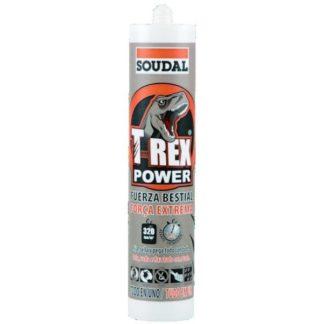 T-Rex power soudal cola e veda branco