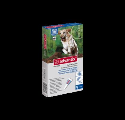 Advantix cão de 25kg a 40kg