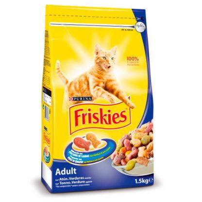 Friskies Gato Adulto c/ Peixe 20kgs (Atum e legumes)