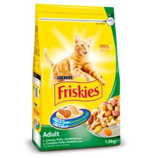 Friskies Gato Adulto c/ Coelho 20kgs (Coelho, Frango e Legumes)