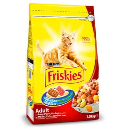 Friskies Gato Adulto c/ Carne 20kgs (Vaca, Frango e Legumes)