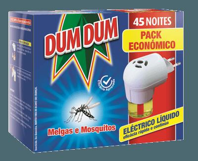 Dum Dum Eléctrico Melgas e Mosquitos Pack Eco 23ml