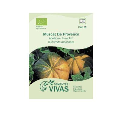 Sementes Abóbora Muscat de Provence Bio