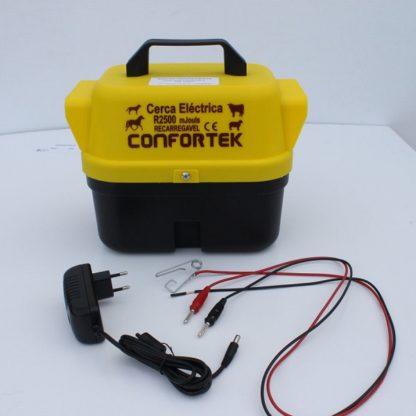 Cerca Eléctrica Confortek Recarregavel R2500x+Carregador (bateria)
