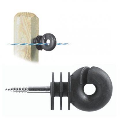 Isolador fio rosca (Pack 25un)