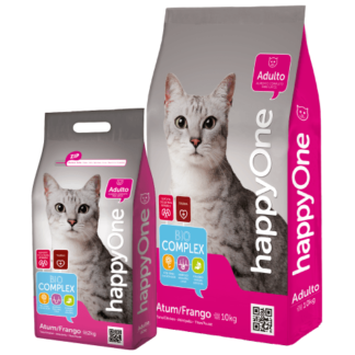 HappyOne Gato Adulto 10kg (Atum e Frango)