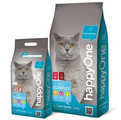 HappyOne Gato Adulto Esterilizado 10kgs
