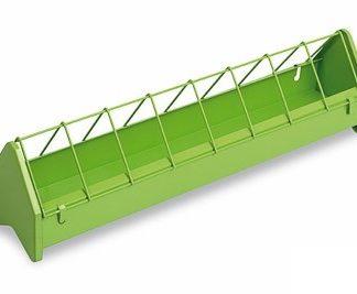 Comedouro em Metal 50cm verde