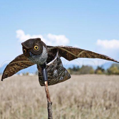 Mocho afugentador Pássaros c/asas