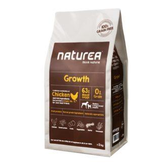 Naturea Grain Free Growth Chicken 12kg (Envio Grátis)