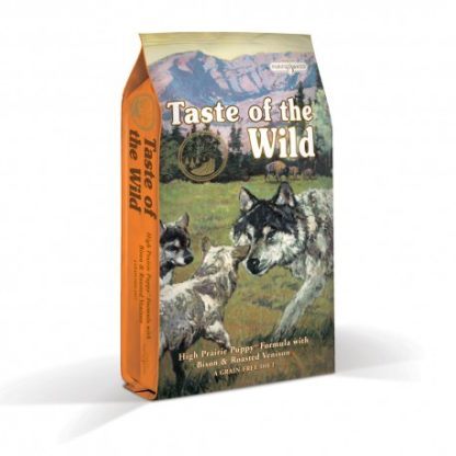Taste Of The Wild Puppy High Prairie Bisonte e Veado 12.2Kg (Envio Grátis)