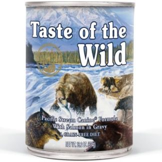 Taste Of The Wild Pacific Stream  comida húmida para cães 390gr