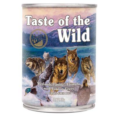 Taste Of The Wild Wetlands comida húmida para cães 390gr