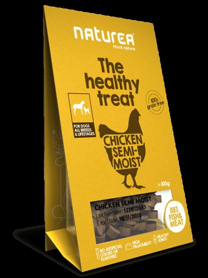 Naturea Treats Dog Chicken 100gr (semi-húmidos)
