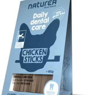 Naturea Dental Sticks Chicken 100gr