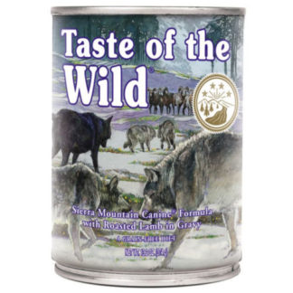 Taste Of The Wild Sierra Mountain comida húmida para cães 390gr