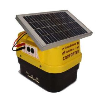 Cerca Eléctrica Confortek solar 5000x (Painel+Bateria)