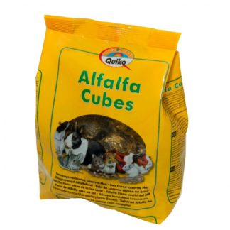 Alfalfa Cubos 500gr Quiko