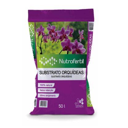 Substrato Orquídeas Nutrofertil 50lts