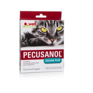 Pecusanol Coleira Antiparisitária p/Gato