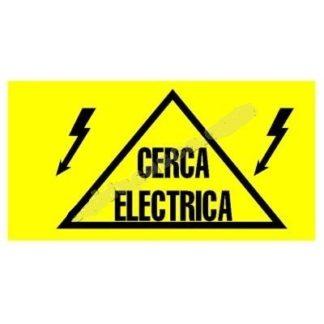 Placa Aviso Cerca Eléctrica