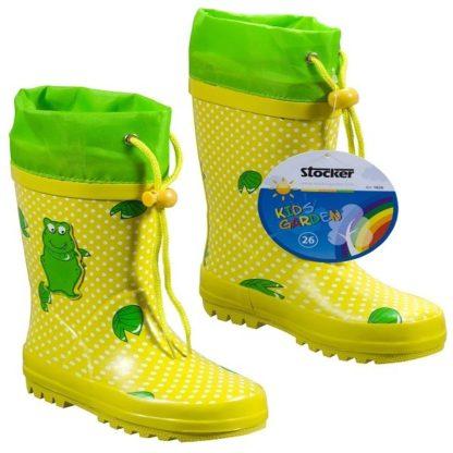 Botas de Borracha Amarelas para Criança