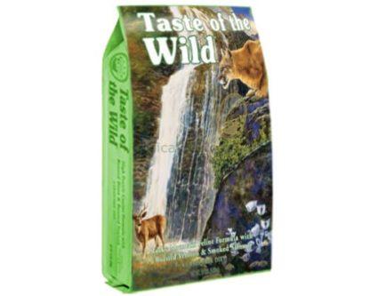 Taste Of The Wild River Rocky Mountain Veado e Salmão Cat 6,600Kg