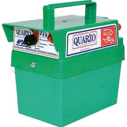 Cerca Eléctrica a Bateria 9v Quarzo (P9N)
