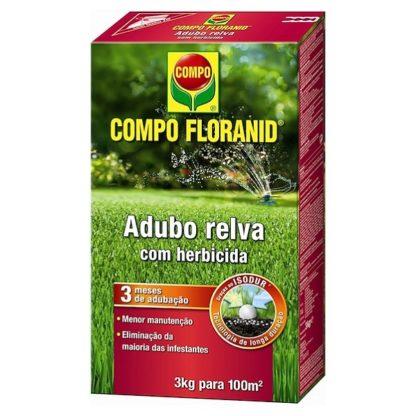Adubo Relva + Herbicida Compo Floranid 3kg