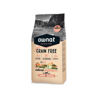 Ownat Just Grain Free Salmão e Marisco 14kg (Envio Grátis)