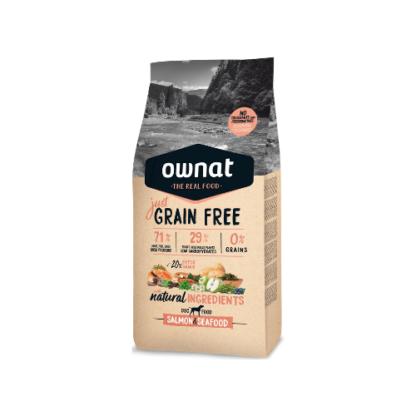 Ownat Just Grain Free Salmão e Marisco 14kg