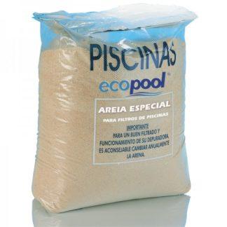 Areia Sílica p/filtros de piscina 25kgs