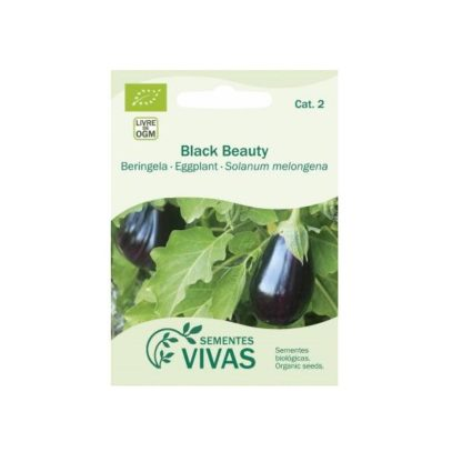Sementes Beringela Black Beauty Bio