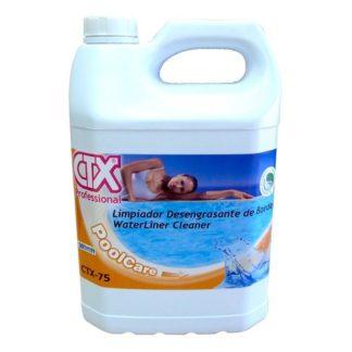 CTX-75 Desengordurante líquido para linha de água 5Lts
