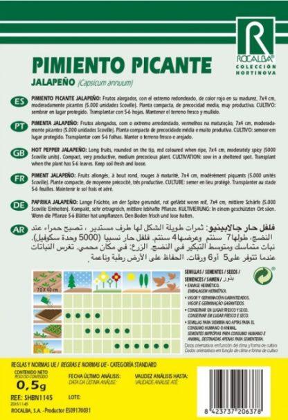 Pimento Picante Jalapenõ
