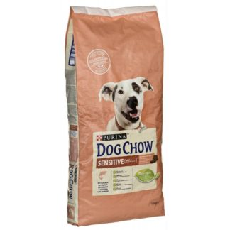Dog Chow Adulto Sensitive Salmão 14kg