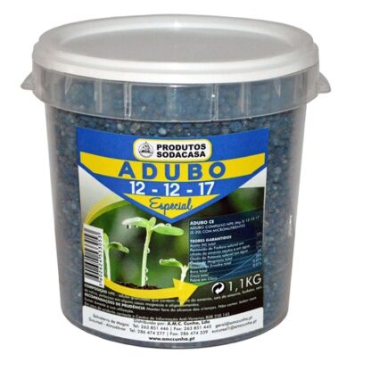 Adubo Azul 12-12-17 Balde 1.1kg