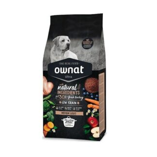 Ownat Ultra Medium Light Dog 14kg (Envio Grátis)