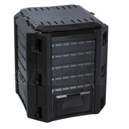 Compostador Compogreen Negro 380 L