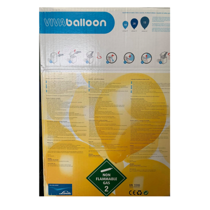 Viva Balloon (Kit descartável para enchimento de balões)